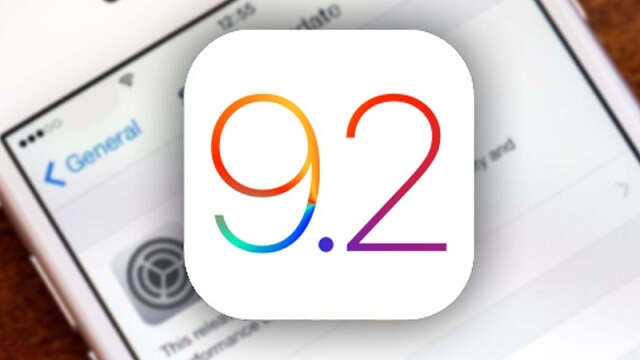 iOS 9.2 ya disponible