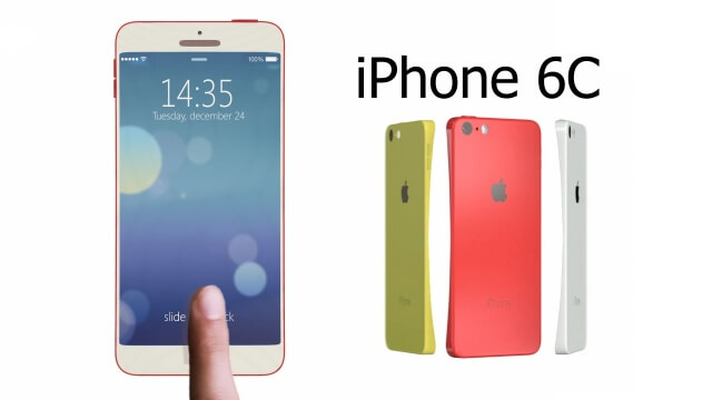 iPhone 6c,  3 colores