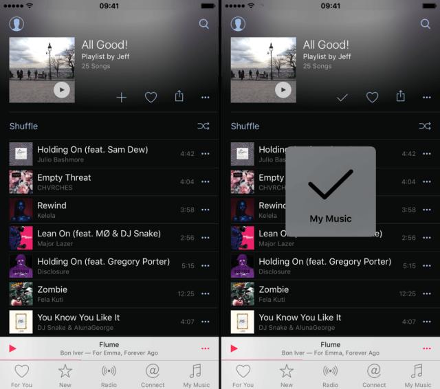 Cómo compartir las listas de reproducción de música en Apple Music