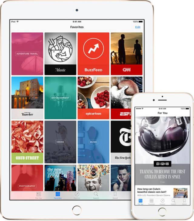 Apple News estaría ofreciendo contenidos de pago próximamente
