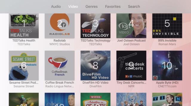 Apple TV Podcast