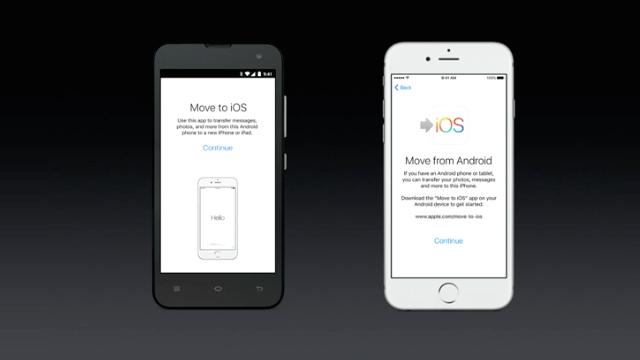 Apple no está trabajando en ninguna herramienta para facilitar la migración de iOS a  - copia