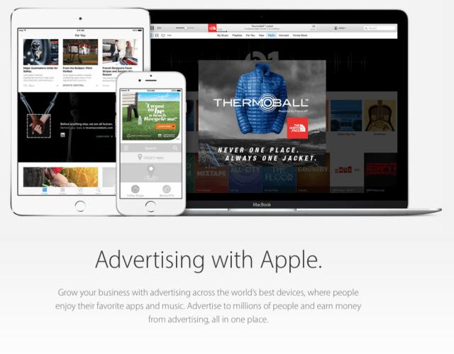 Apple se retirara de las ventas de iAd