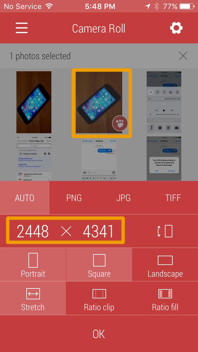 Cómo cambiar el tamaño de las fotos usando Desqueeze-3