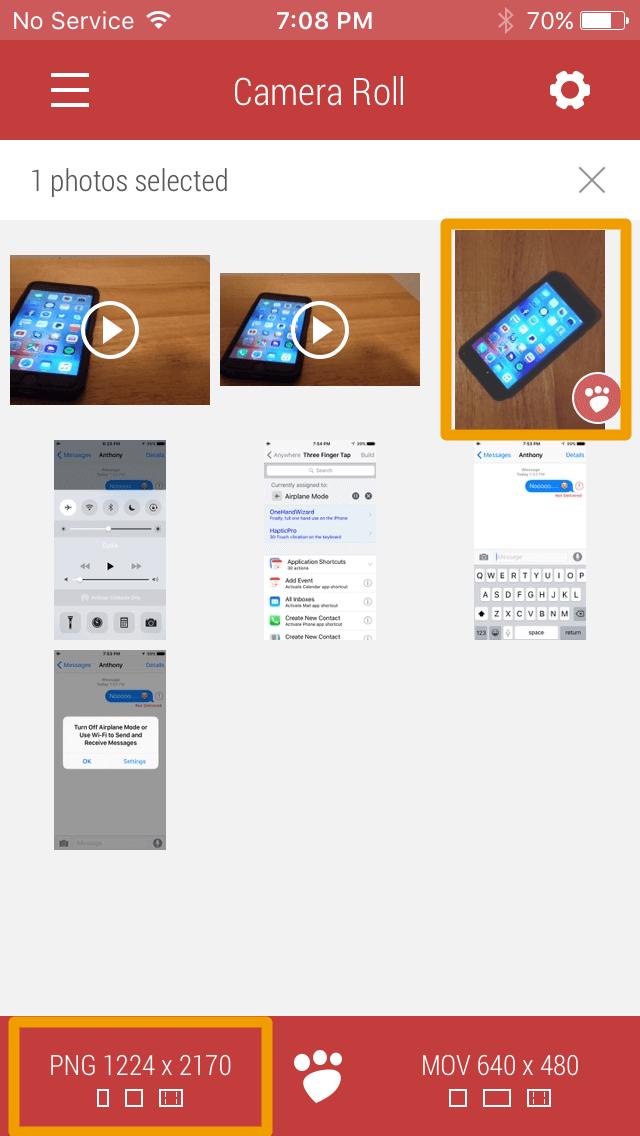 Cómo cambiar el tamaño de las fotos usando Desqueeze