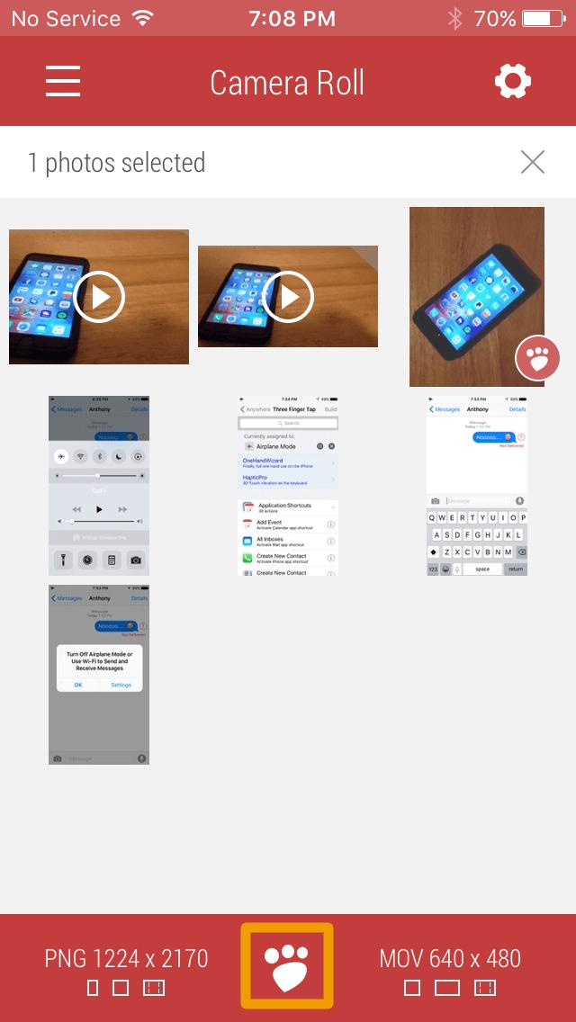 Cómo cambiar el tamaño de las fotos usando Desqueeze-7