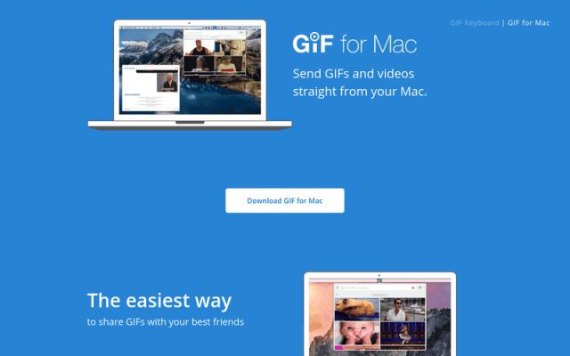 Cómo compartir fácilmente imágenes GIF en tu Mac con GIF Keyboard - copia