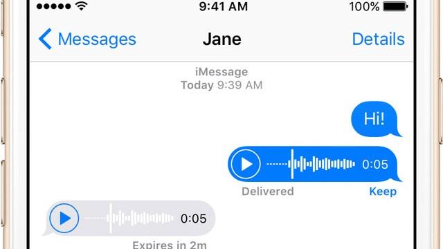 Cómo configurar el iPhone para que borre las notas de audio enviadas en Mensajes - copia