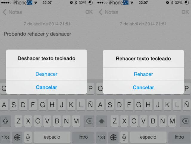 """Cómo desactivar la función """"Agitar para deshacer"""" en iOS 9"""