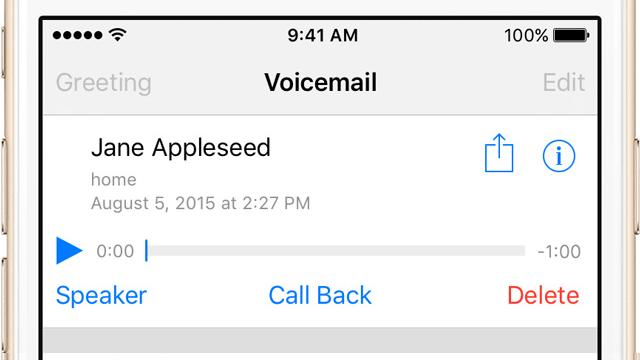Cómo eliminar permanente mente los mensajes de voz en tu iPhone