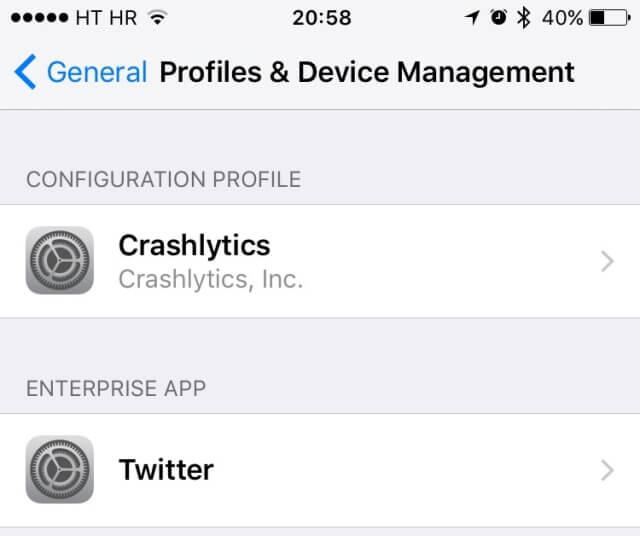 Cómo remover perfiles de configuración en iOS - copia
