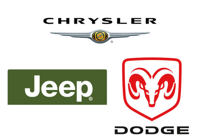 Chrysler, Dodge y Jeep