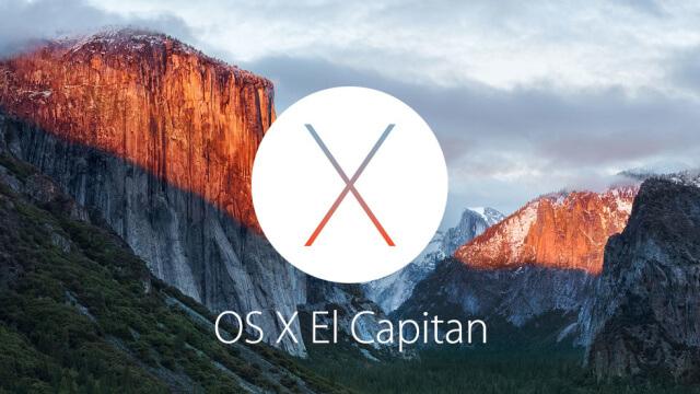 Disponible la segunda beta de OS X El Capitán 10.11.3 para testers