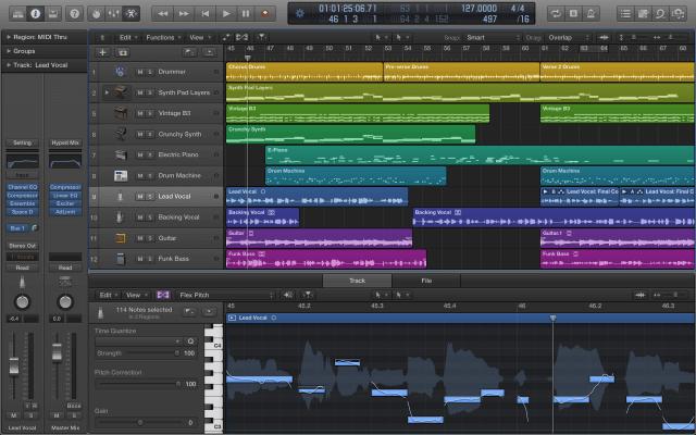 Ecualizador Sonido Pro Apple