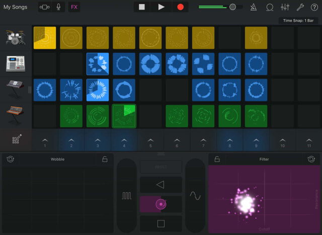 GarageBand para iOS, con Bucles - copia