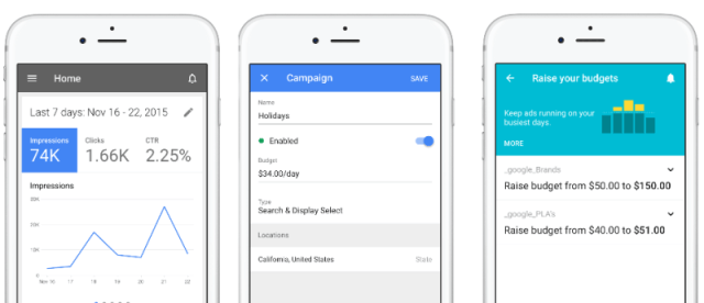 Google ha creado una aplicación nativa de iOS para AdWords