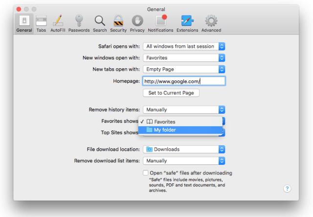 Safari para OS X