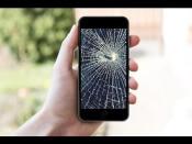 Cómo reparar la pantalla rota de un iPhone o iPad [Humor]