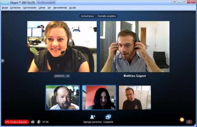 darle la gran bienvenida a las grandiosas video llamadas grupales a los dispositivos móviles