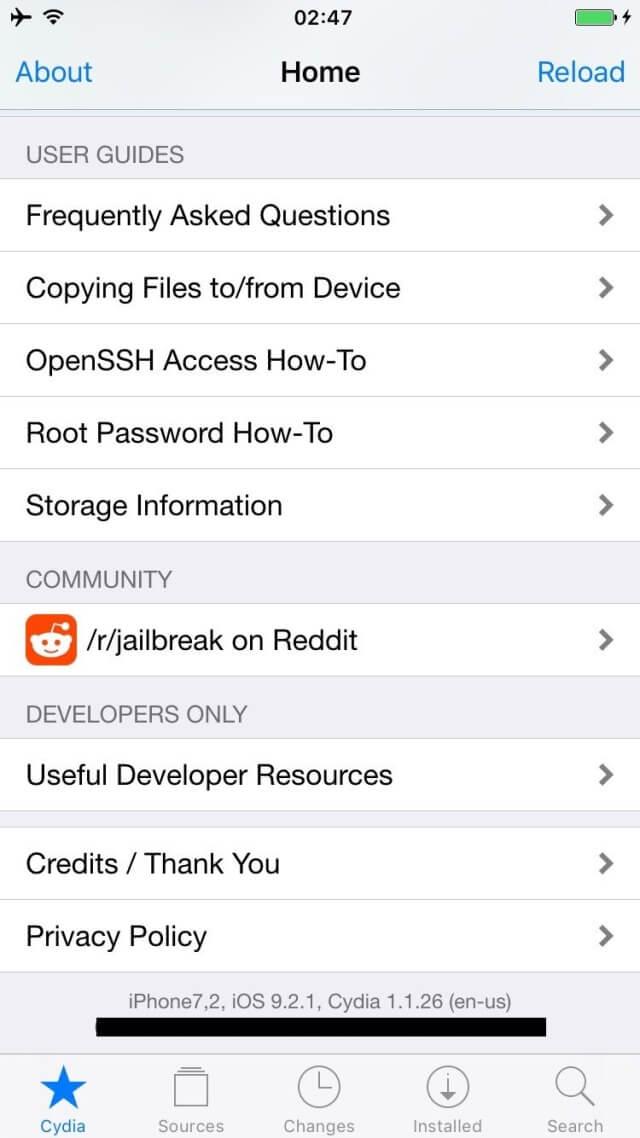 existe un usuario en particular llamado Luca Todesco que recientemente tuvo éxito con un Jailbreak en iOS 9.2.1
