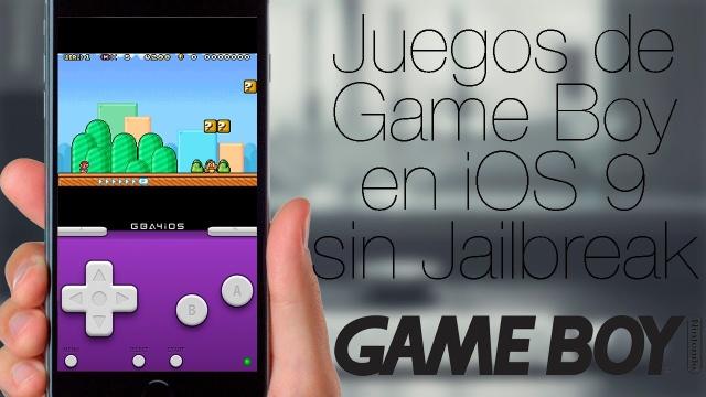 GBA4iOS: Juegos del Game Boy Advance en iOS 9 [Sin Jailbreak]