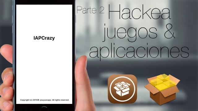 Hackea juegos y aplicaciones en iOS 9 con IAPCrazy