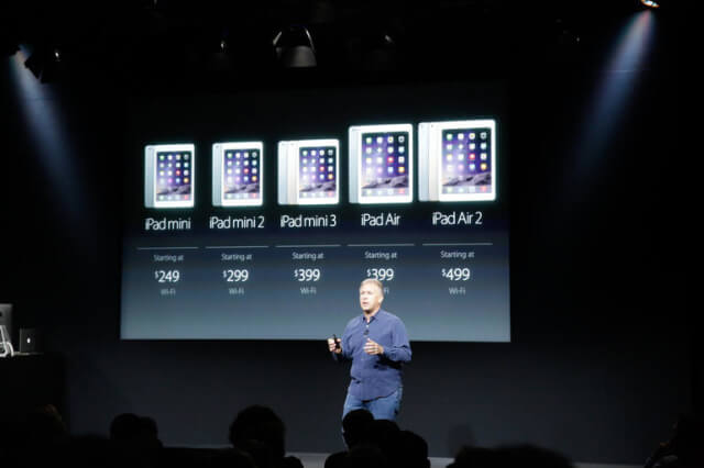 iPad Air 2 evento 2015
