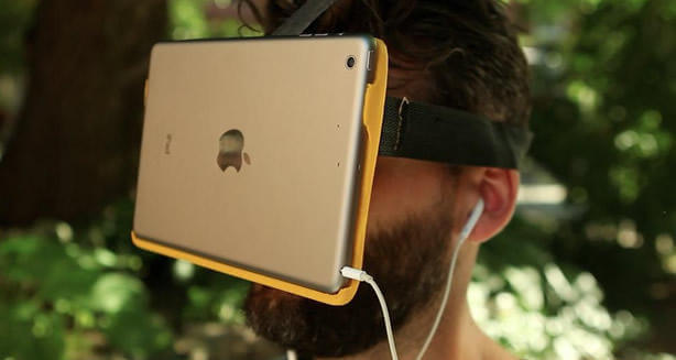 iPad y Gafas de realidad virtual
