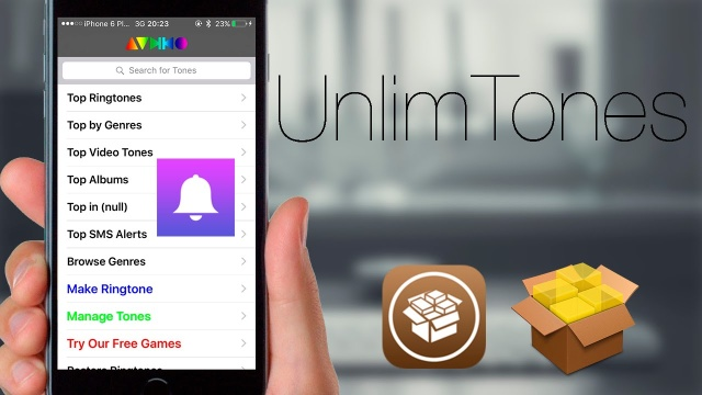 UnlimTones: Descarga e importa ringtones en tu iDevice