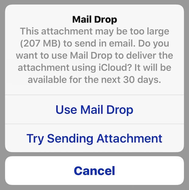 using-mail-drop-ios
