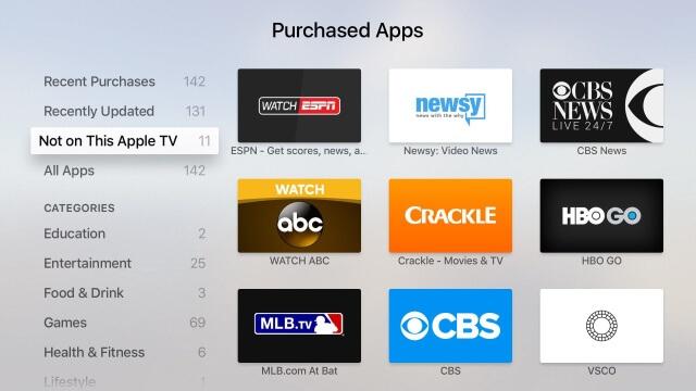 """""""No en este Apple TV"""""""