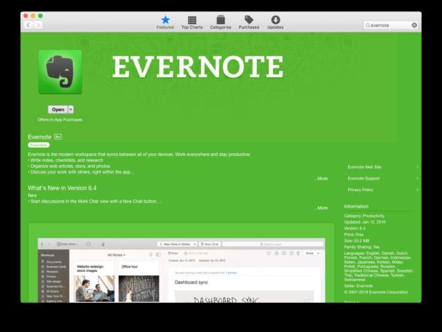 1 .Instalar Evernote