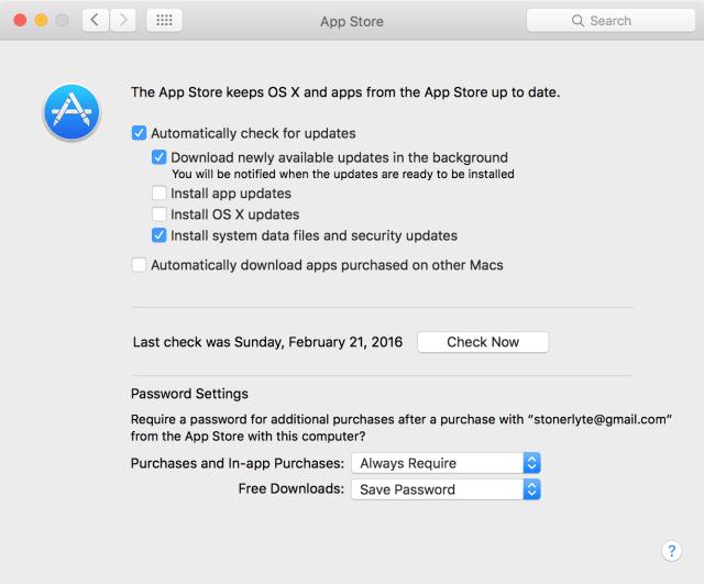 2. Nuevas versiones de OS X