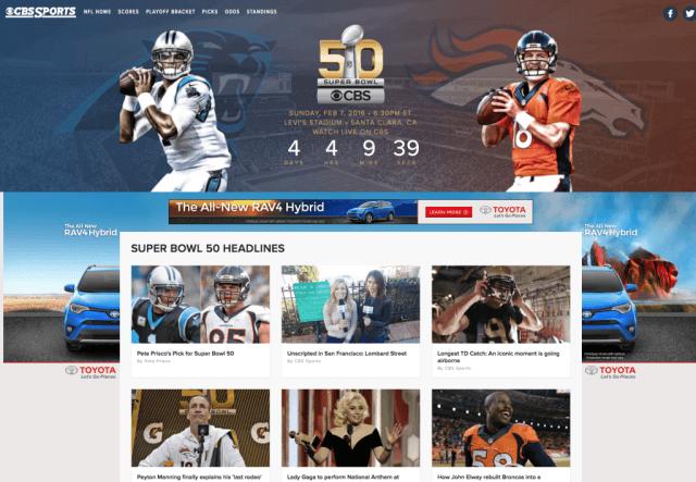4. Ver el Super Bowl desde MAc o PC