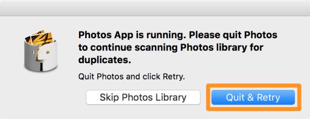 5. Cerrar la app Photos