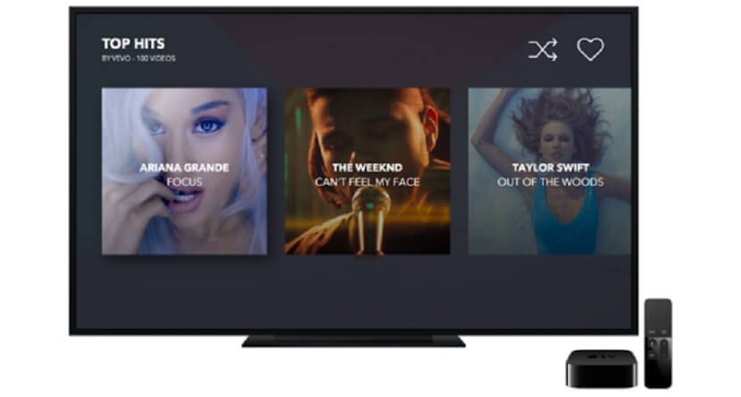 Apple TV- VEVO