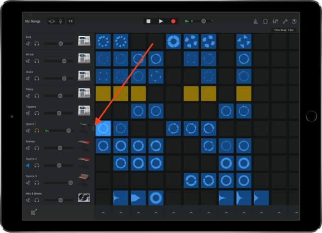 Cómo ajustar el volumen, mute e instrumentos de solista