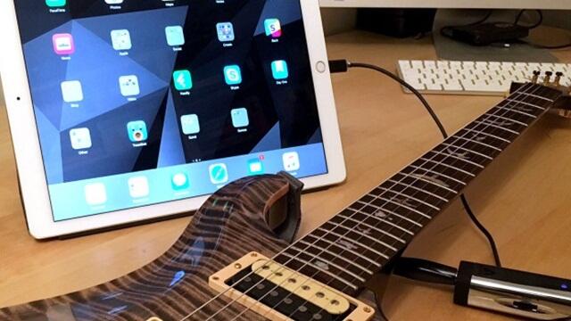 Cómo grabar con tu guitarra en un iPhone o iPad