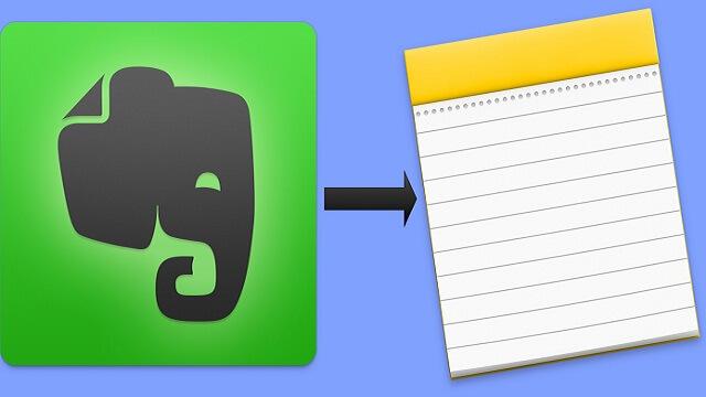 """Cómo migrar las notas de Evernote a  """"Notas"""" de OS X - copia"""
