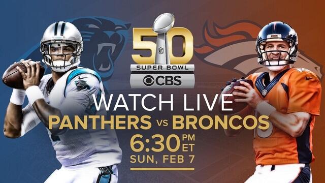 Cómo ver el Super Bowl 50 a través de un iPhone, iPad, Apple TV u otros dispositivos