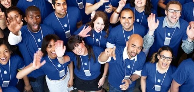 Empleados de Apple reciben nuevos beneficios