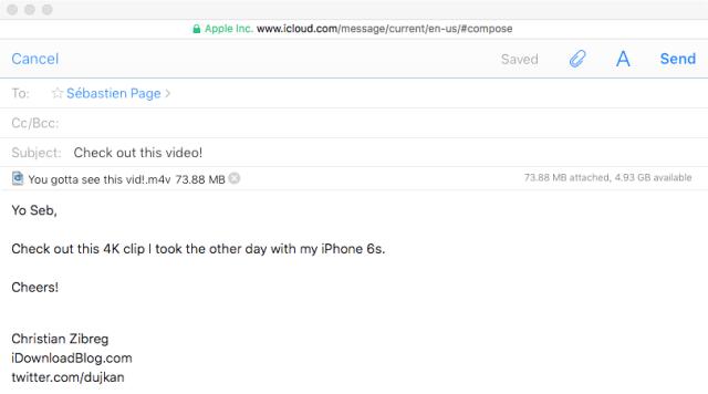 Enlances de descarga en el envio