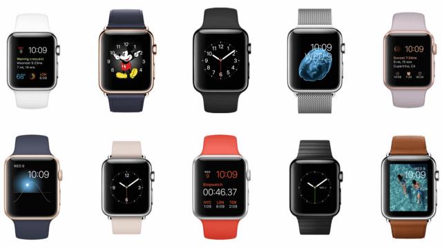Modelos del Apple Watch