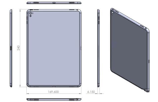 Nuevo diseño del iPad Air 3 reafirma el rumor de los 4 altavoces y teclado inteligente - copia - copia