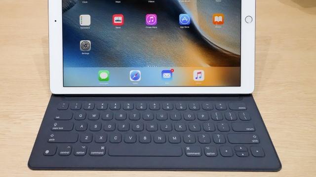 Primera actualización del firmware del Smart Keyboard