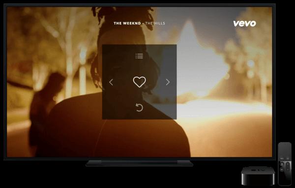 VEVO lanza su aplicación para el Apple TV