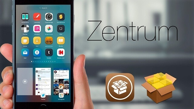 Zentrum Rediseña el multitareas de iOS 9