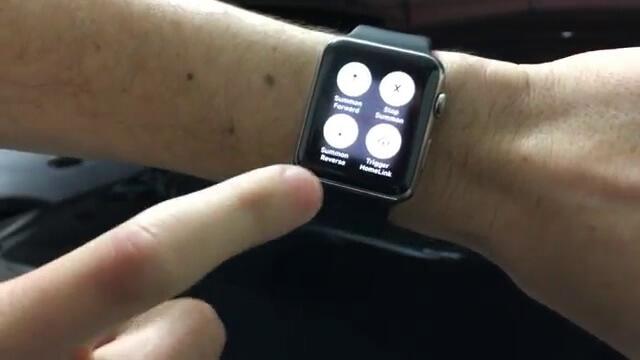Allen Wong nos muestra cómo maneja el Tesla Model S desde su Apple Watch
