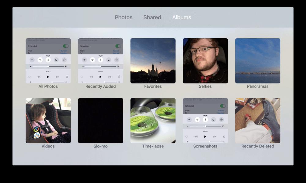 el apoyo para la biblioteca de fotos de iCloud