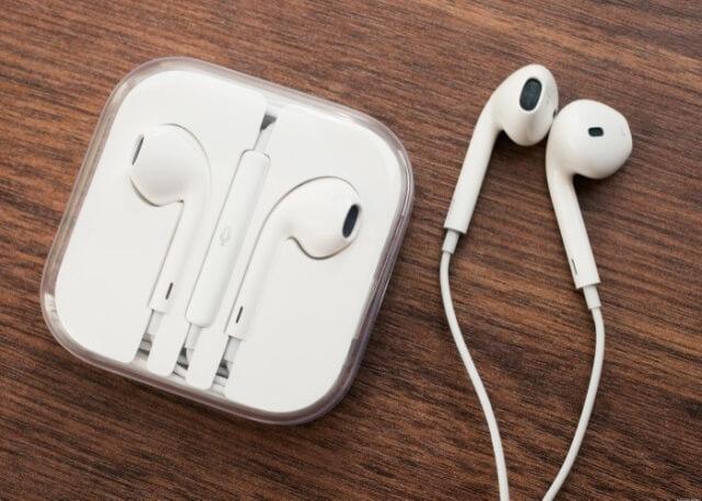 el nuevo iPhone vendrá con unos auriculares por cable EarPods